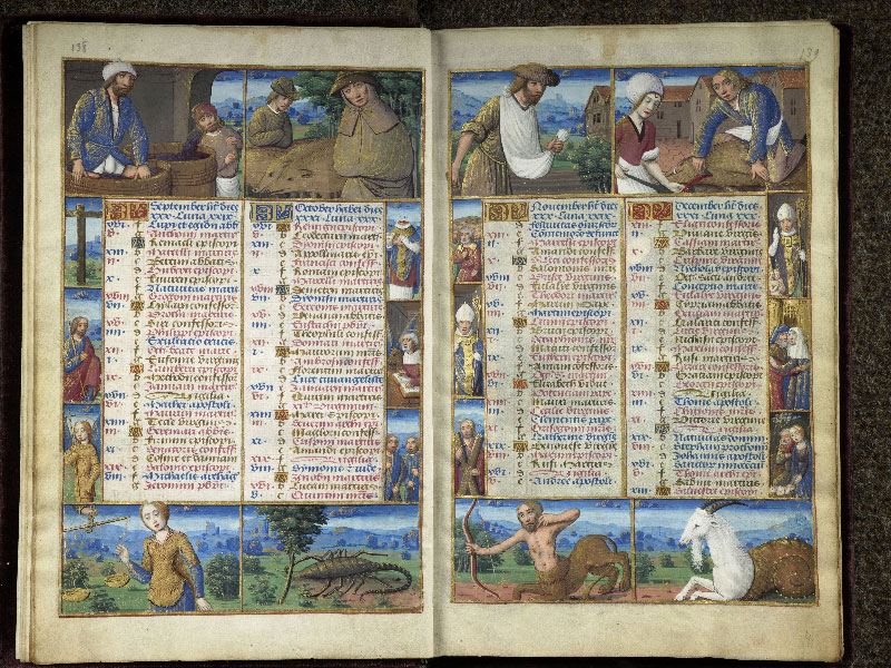 CHANTILLY, Bibliothèque du château, 0072 (1119), f. 003v - 004
