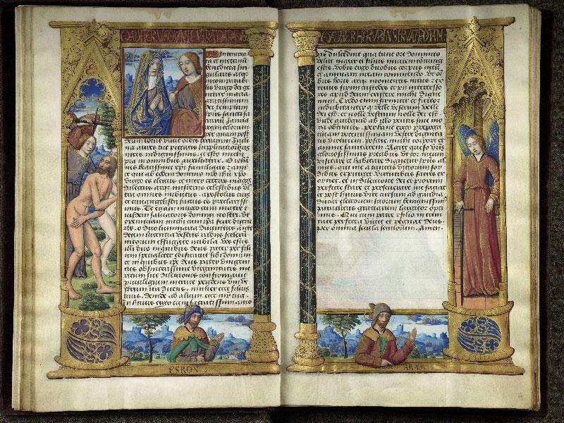 CHANTILLY, Bibliothèque du château, 0072 (1119), f. 008v - 009