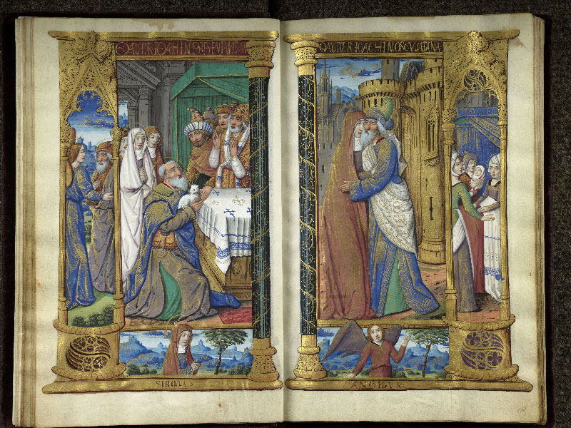 CHANTILLY, Bibliothèque du château, 0072 (1119), f. 009v - 010