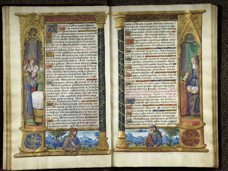 CHANTILLY, Bibliothèque du château, 0072 (1119), f. 010v - 011