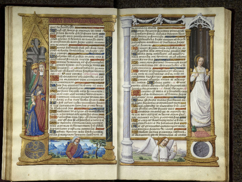 CHANTILLY, Bibliothèque du château, 0072 (1119), f. 011v - 012