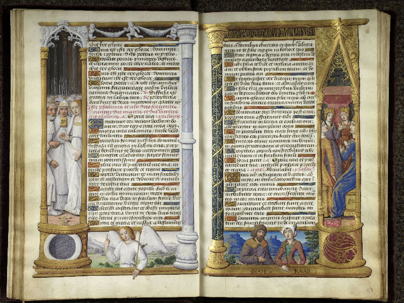 CHANTILLY, Bibliothèque du château, 0072 (1119), f. 012v - 013