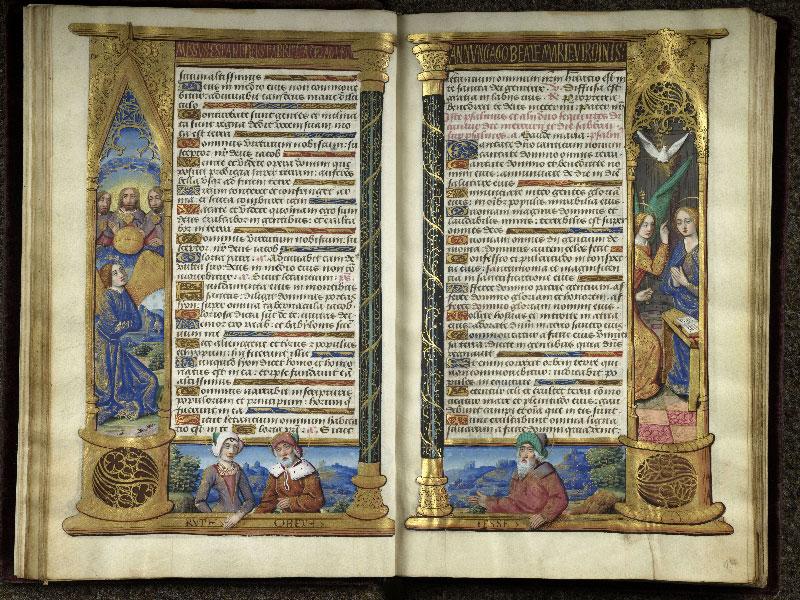 CHANTILLY, Bibliothèque du château, 0072 (1119), f. 013v - 014