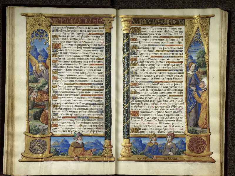 CHANTILLY, Bibliothèque du château, 0072 (1119), f. 014v - 015