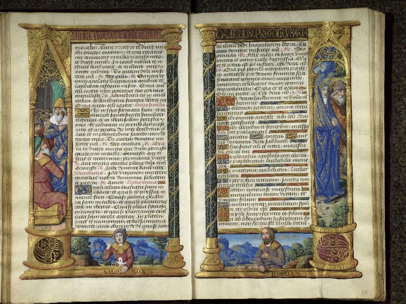 CHANTILLY, Bibliothèque du château, 0072 (1119), f. 015v - 016