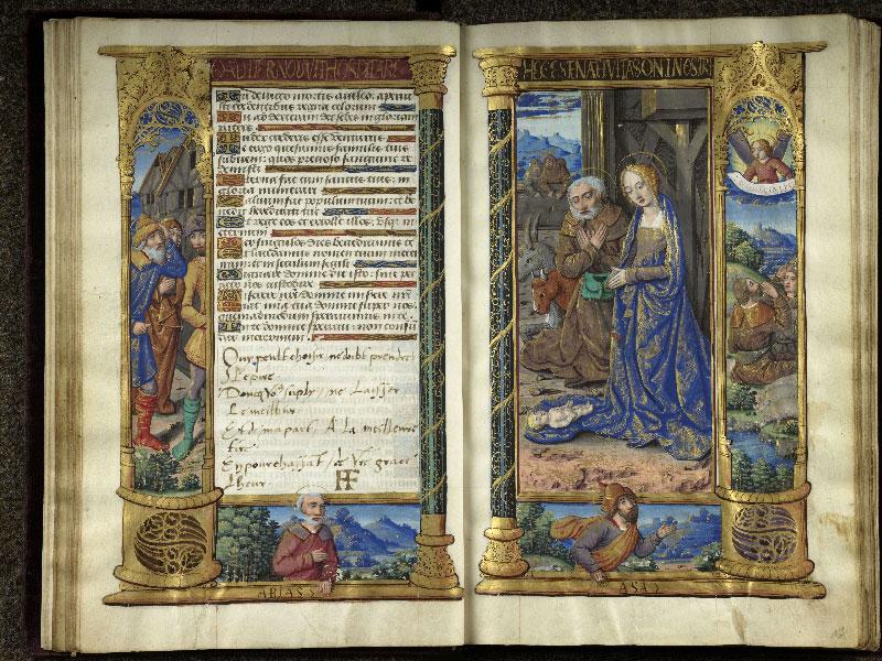 CHANTILLY, Bibliothèque du château, 0072 (1119), f. 016v - 017