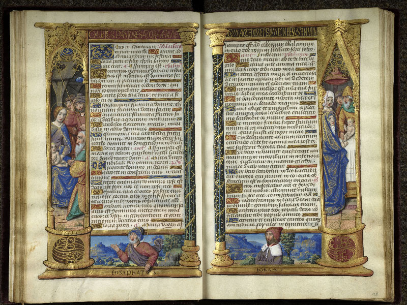 CHANTILLY, Bibliothèque du château, 0072 (1119), f. 017v - 018