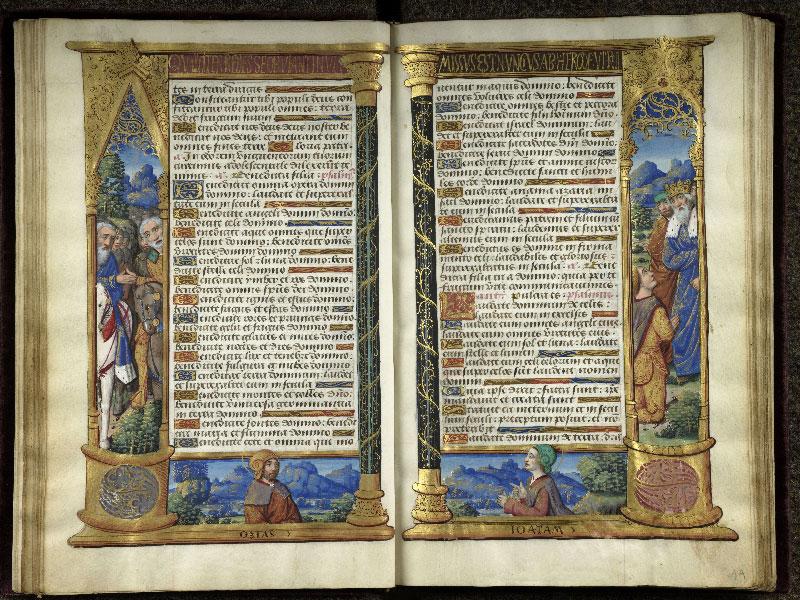 CHANTILLY, Bibliothèque du château, 0072 (1119), f. 018v - 019