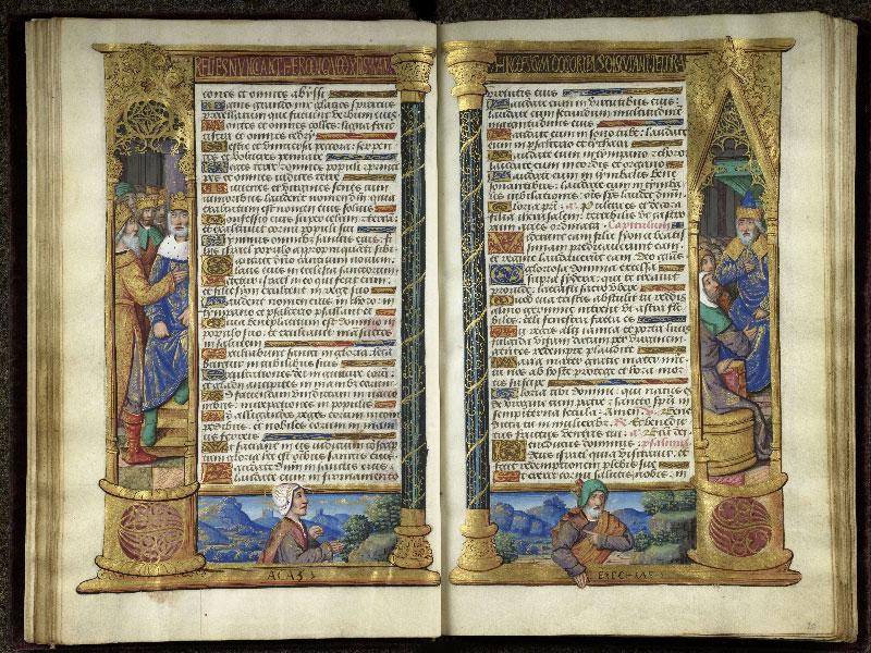 CHANTILLY, Bibliothèque du château, 0072 (1119), f. 019v - 020