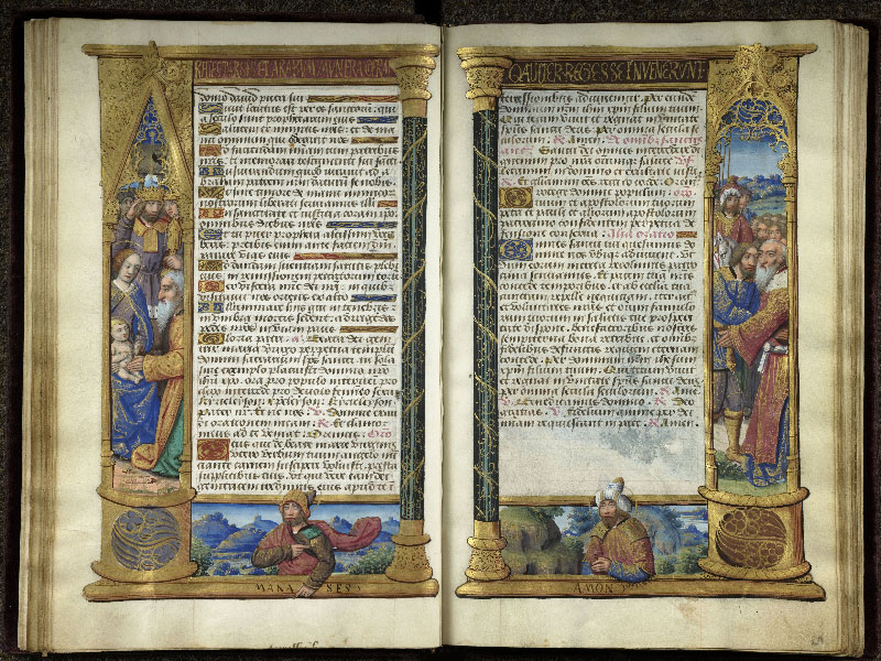 CHANTILLY, Bibliothèque du château, 0072 (1119), f. 020v - 021