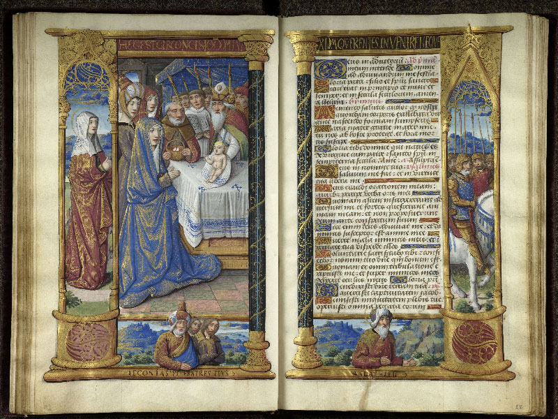 CHANTILLY, Bibliothèque du château, 0072 (1119), f. 021v - 022