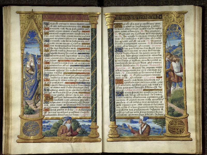 CHANTILLY, Bibliothèque du château, 0072 (1119), f. 022v - 023