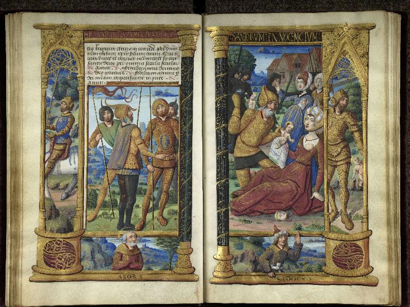 CHANTILLY, Bibliothèque du château, 0072 (1119), f. 023v - 024