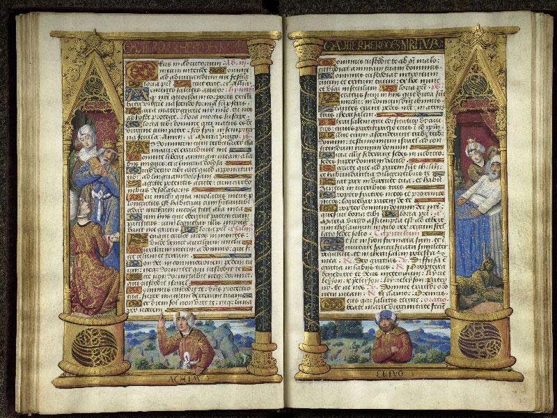 CHANTILLY, Bibliothèque du château, 0072 (1119), f. 024v - 025