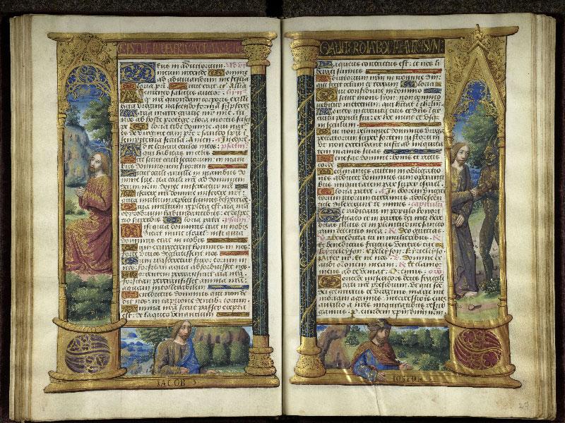CHANTILLY, Bibliothèque du château, 0072 (1119), f. 026v - 027