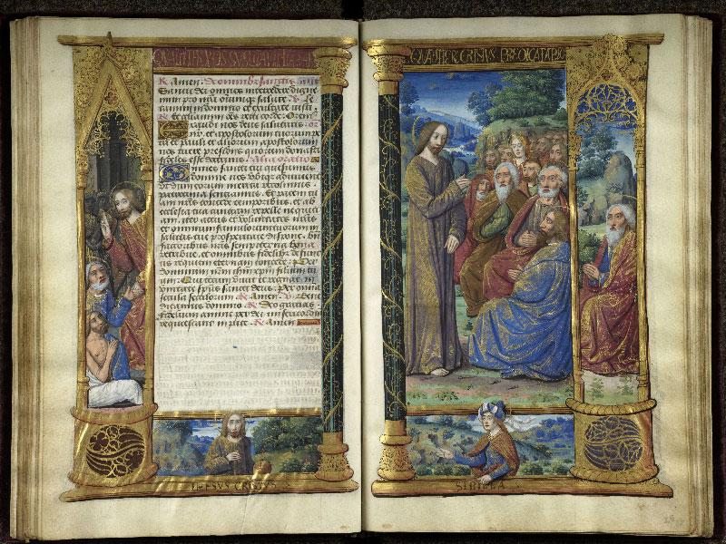 CHANTILLY, Bibliothèque du château, 0072 (1119), f. 027v - 028