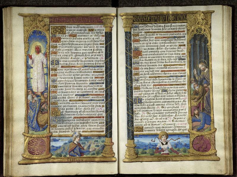 CHANTILLY, Bibliothèque du château, 0072 (1119), f. 028v - 029