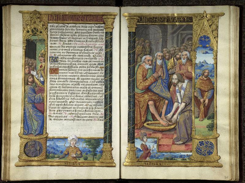 CHANTILLY, Bibliothèque du château, 0072 (1119), f. 029v - 030