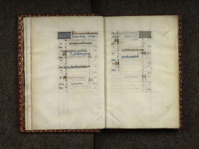 CHANTILLY, Bibliothèque du château, 0074 (1088), f. 002v - 003