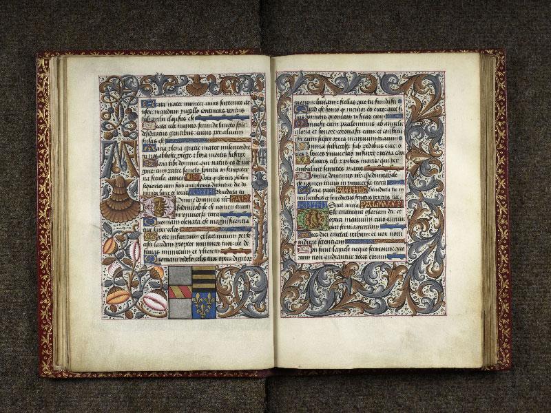 CHANTILLY, Bibliothèque du château, 0074 (1088), f. 020v - 021