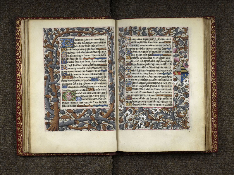 CHANTILLY, Bibliothèque du château, 0074 (1088), f. 025v - 026