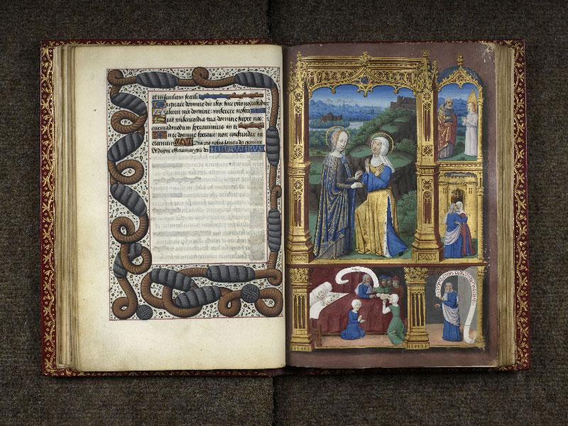 CHANTILLY, Bibliothèque du château, 0074 (1088), f. 028v - 029