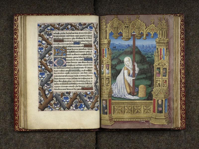 CHANTILLY, Bibliothèque du château, 0074 (1088), f. 034v - 035