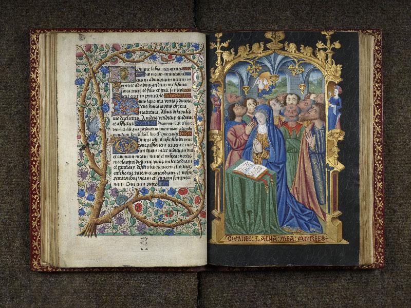 CHANTILLY, Bibliothèque du château, 0074 (1088), f. 035v - 036