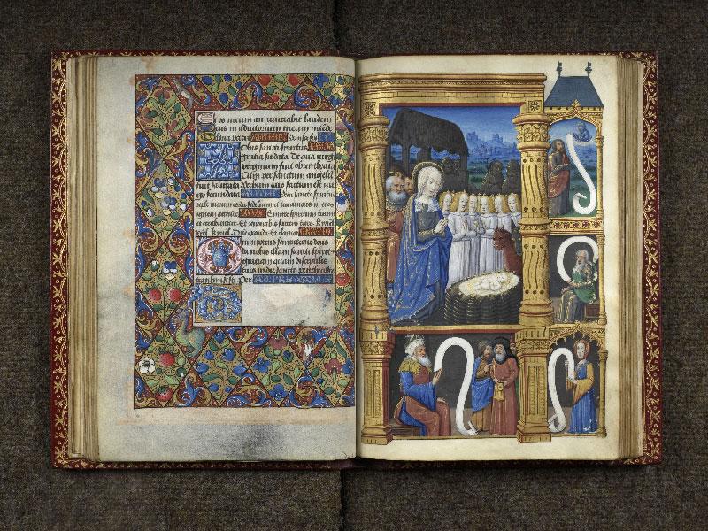 CHANTILLY, Bibliothèque du château, 0074 (1088), f. 036v - 037