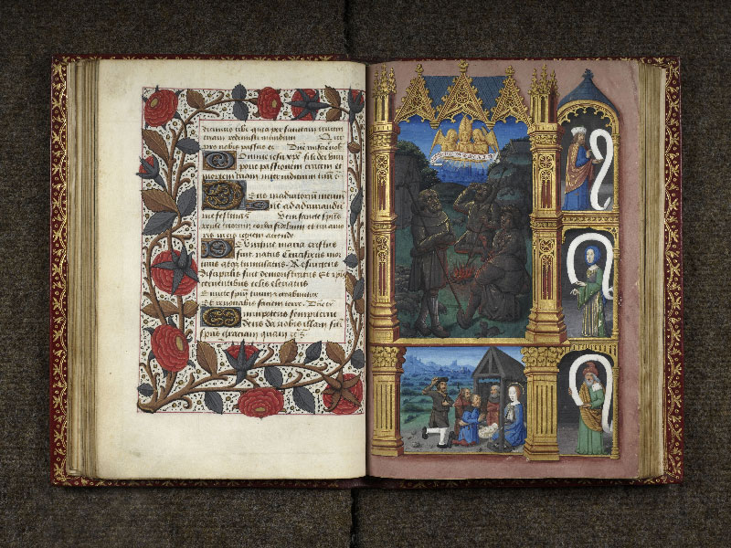 CHANTILLY, Bibliothèque du château, 0074 (1088), f. 039v - 040
