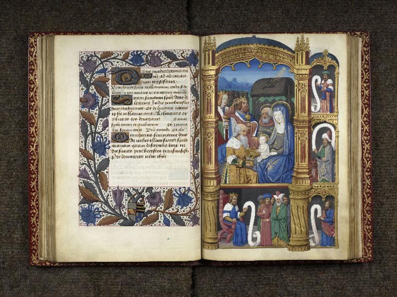 CHANTILLY, Bibliothèque du château, 0074 (1088), f. 042v - 043