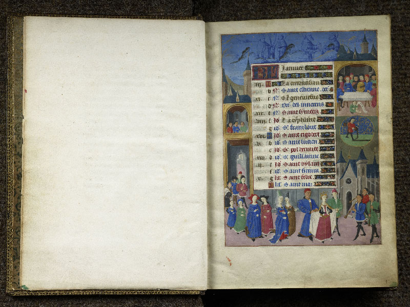 CHANTILLY, Bibliothèque du château, 0076 (1362), f.000Bv - 001