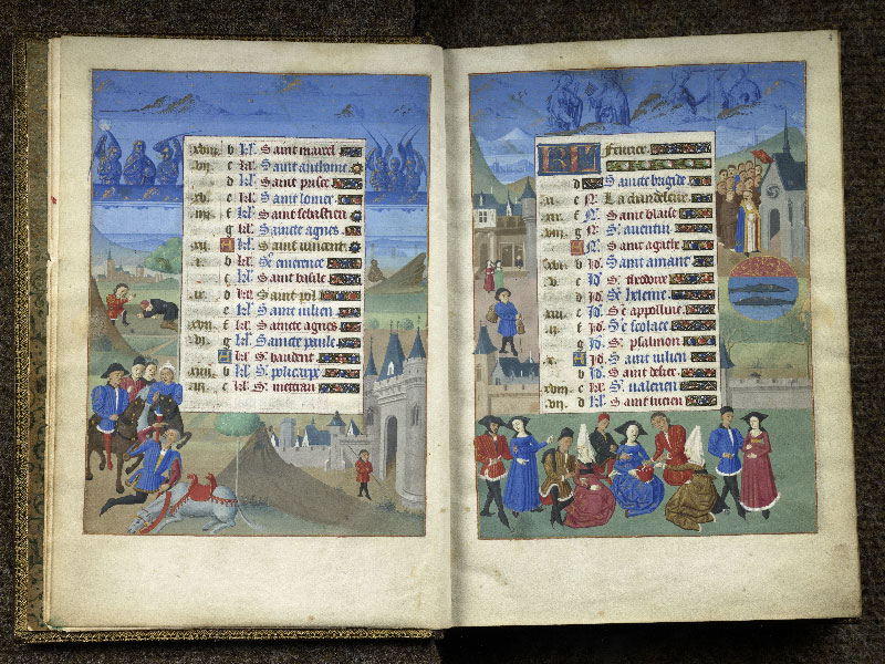 CHANTILLY, Bibliothèque du château, 0076 (1362), f. 001v - 002