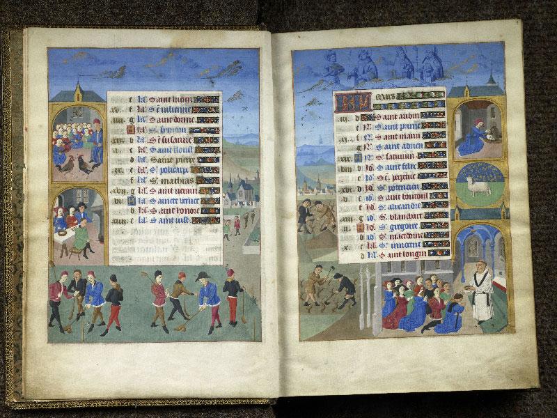 CHANTILLY, Bibliothèque du château, 0076 (1362), f. 002v - 003