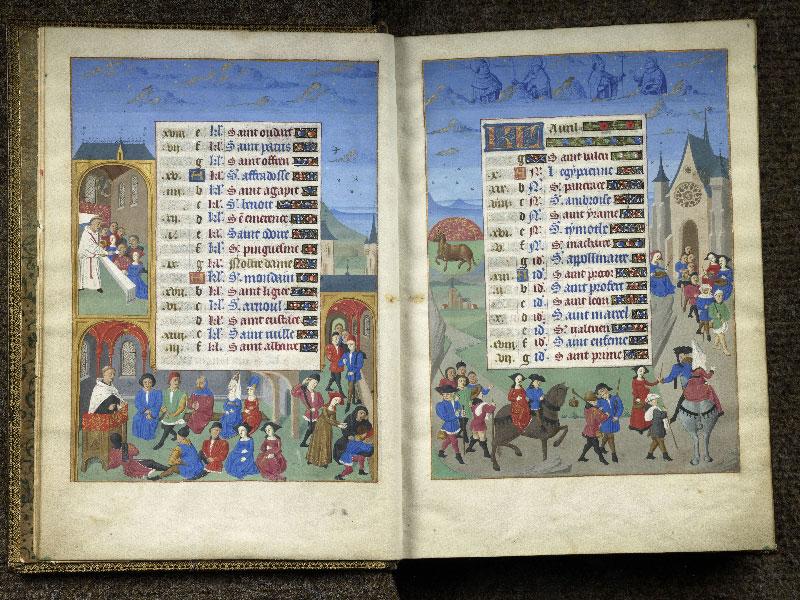 CHANTILLY, Bibliothèque du château, 0076 (1362), f. 003v - 004