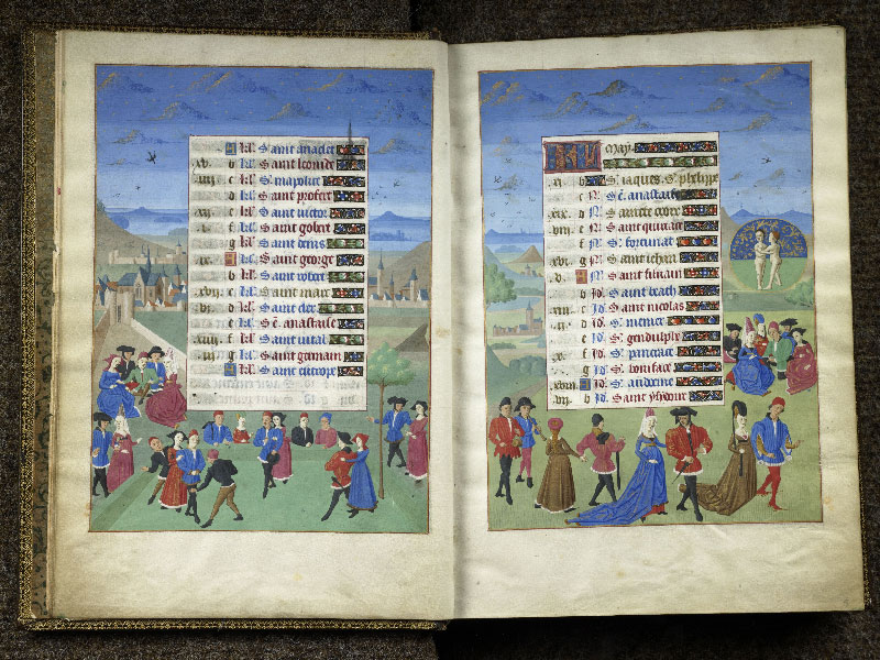 CHANTILLY, Bibliothèque du château, 0076 (1362), f. 004v - 005