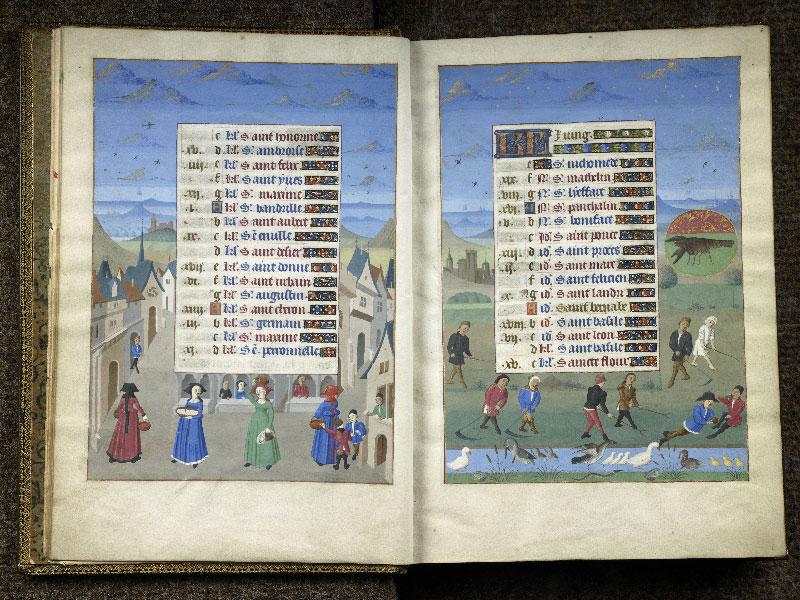 CHANTILLY, Bibliothèque du château, 0076 (1362), f. 005v - 006