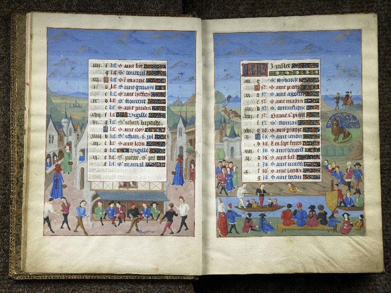 CHANTILLY, Bibliothèque du château, 0076 (1362), f. 006v - 007