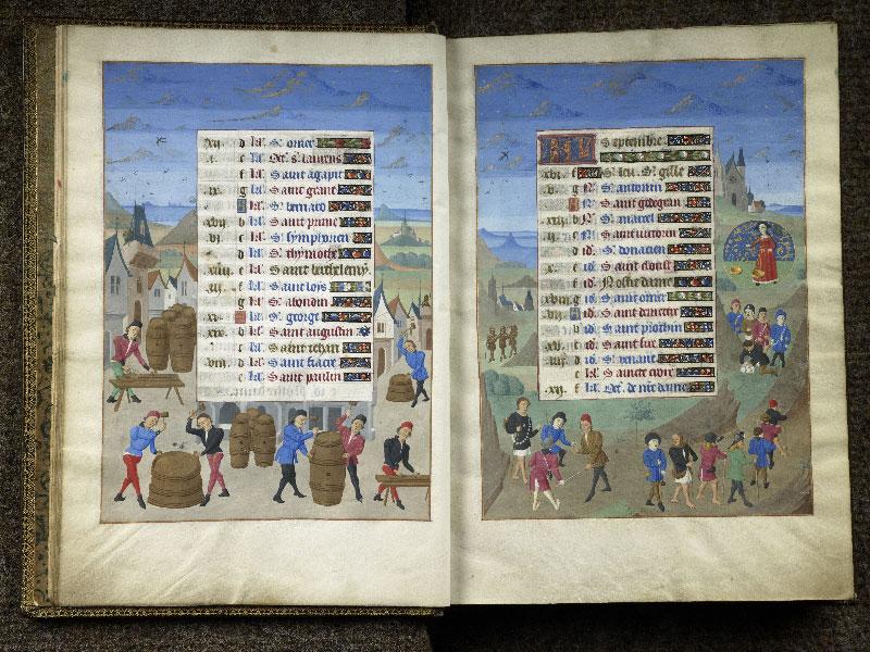 CHANTILLY, Bibliothèque du château, 0076 (1362), f. 008v - 009