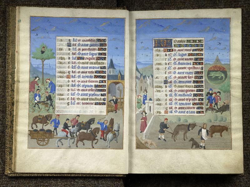 CHANTILLY, Bibliothèque du château, 0076 (1362), f. 009v - 010