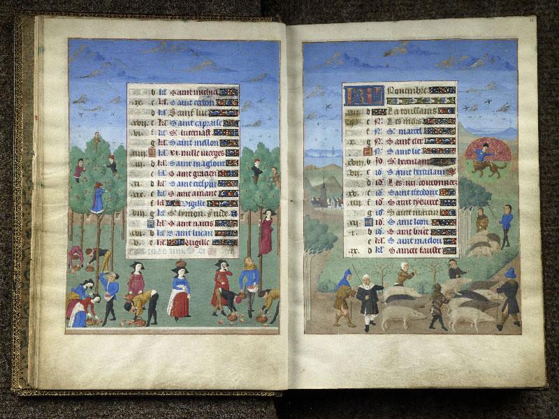 CHANTILLY, Bibliothèque du château, 0076 (1362), f. 010v - 011