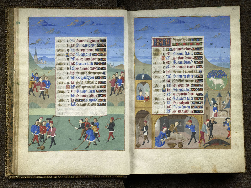 CHANTILLY, Bibliothèque du château, 0076 (1362), f. 011v - 012