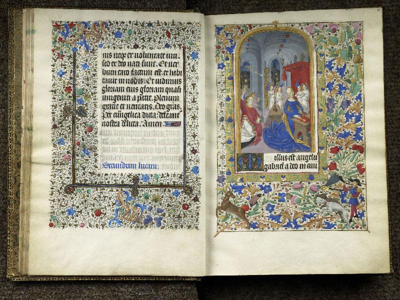 CHANTILLY, Bibliothèque du château, 0076 (1362), f. 014v - 015