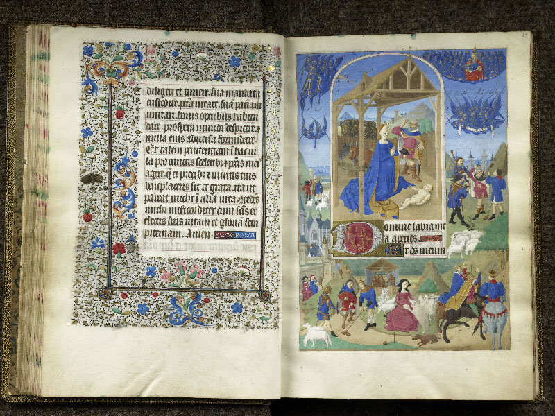 CHANTILLY, Bibliothèque du château, 0076 (1362), f. 028v - 029