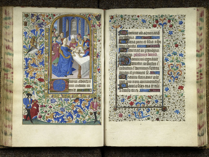 CHANTILLY, Bibliothèque du château, 0076 (1362), f. 055v - 056