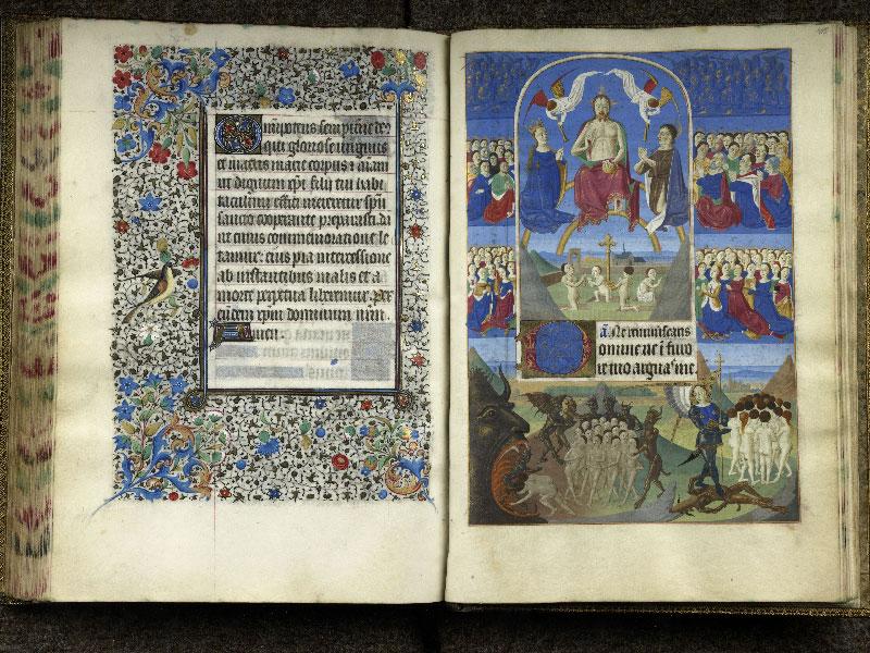 CHANTILLY, Bibliothèque du château, 0076 (1362), f. 104v - 105