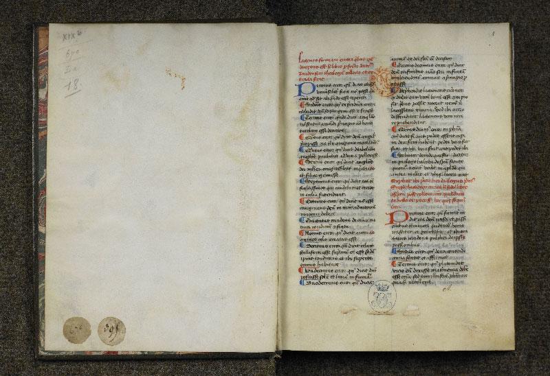 CHANTILLY, Bibliothèque du château, 0126 (0670), contregarde - p. 001