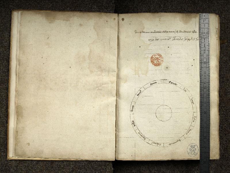 CHANTILLY, Bibliothèque du château, 0322 (0641), f. 000Cv - 000D avec réglet