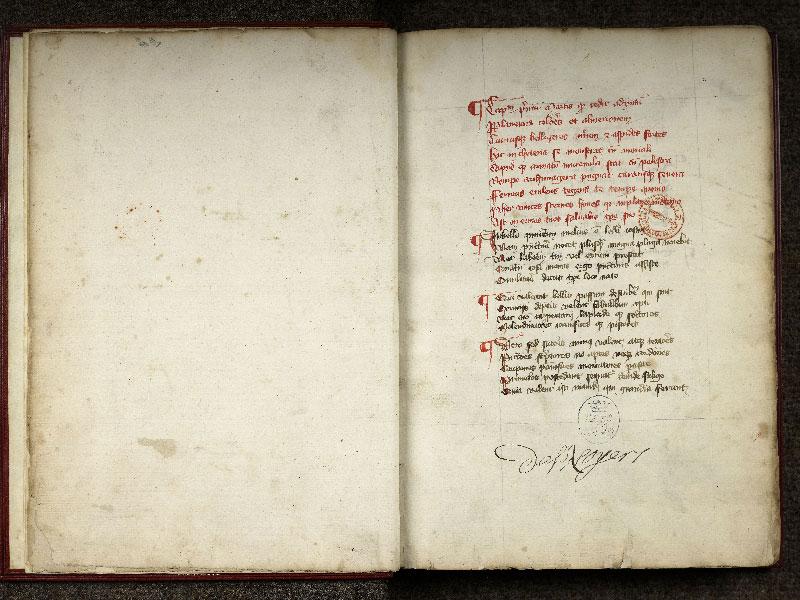 CHANTILLY, Bibliothèque du château, 0348 (0633), f. 000Cv - 001
