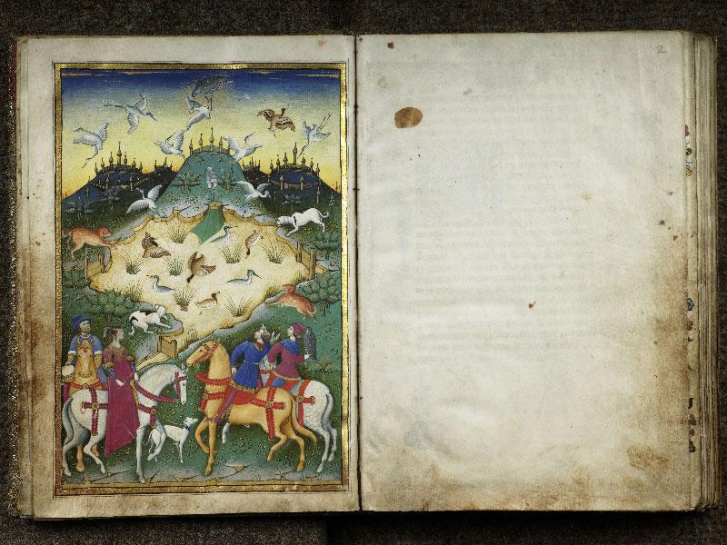 CHANTILLY, Bibliothèque du château, 0368 (1375), f. 001v - 002